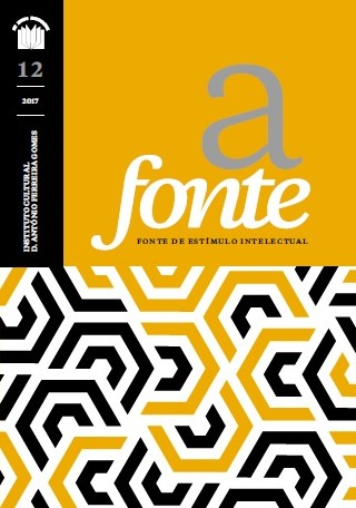 "Capa da Revista do Instituto ""A Fonte"""